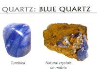 Benefits of BLUE QUARTZ